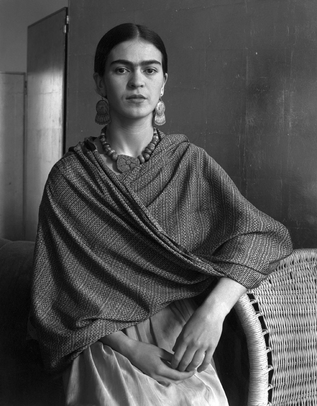 Frida Kahlo by Imogen Cunningham